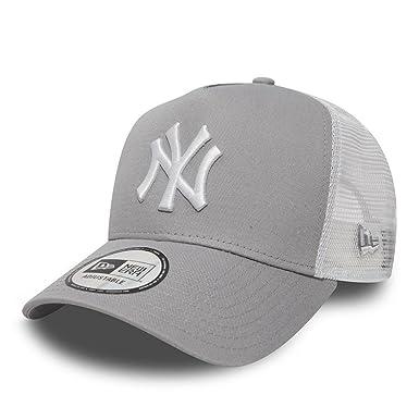 e4d2869f9f7 New Era New York Yankees Trucker Mens Cap Grey at Amazon Men s Clothing  store