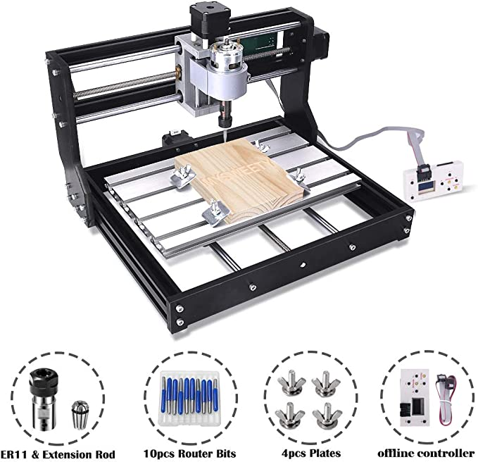 best CNC router: Upgrade Version 3018 - A compact choice