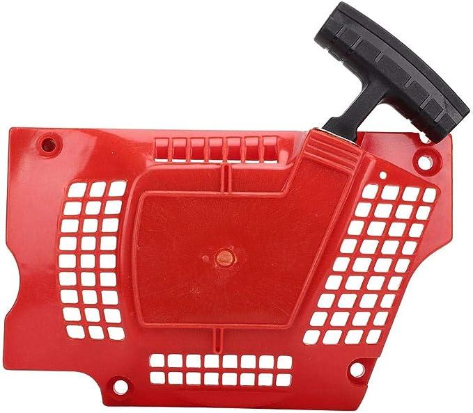 Accesorios para motosierras Repuesto Cortacésped Adecuado para Husqvarna HUS340/345/350/353 Sierra de Gasolina Disco de Arranque Arranque de la Bandeja Arranque