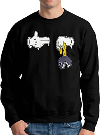 Run The Jewels Bust No Moves Mens Pullover,Casual Long Sleeve Outwear
