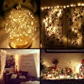 Kohree String Lights Copper Wire Fairy String Lights Micro 30 LEDs Super Bright,Starry Rope Lights for Party Wedding Home Table Decorations,Warm White Battery Operated 6 Packs
