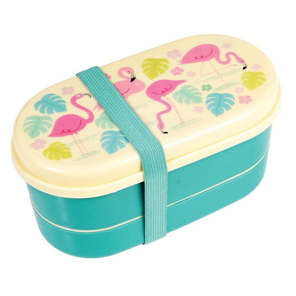 Colourful Creatures Bento box–Choice of Animal (Flamingo Bay) Rex London
