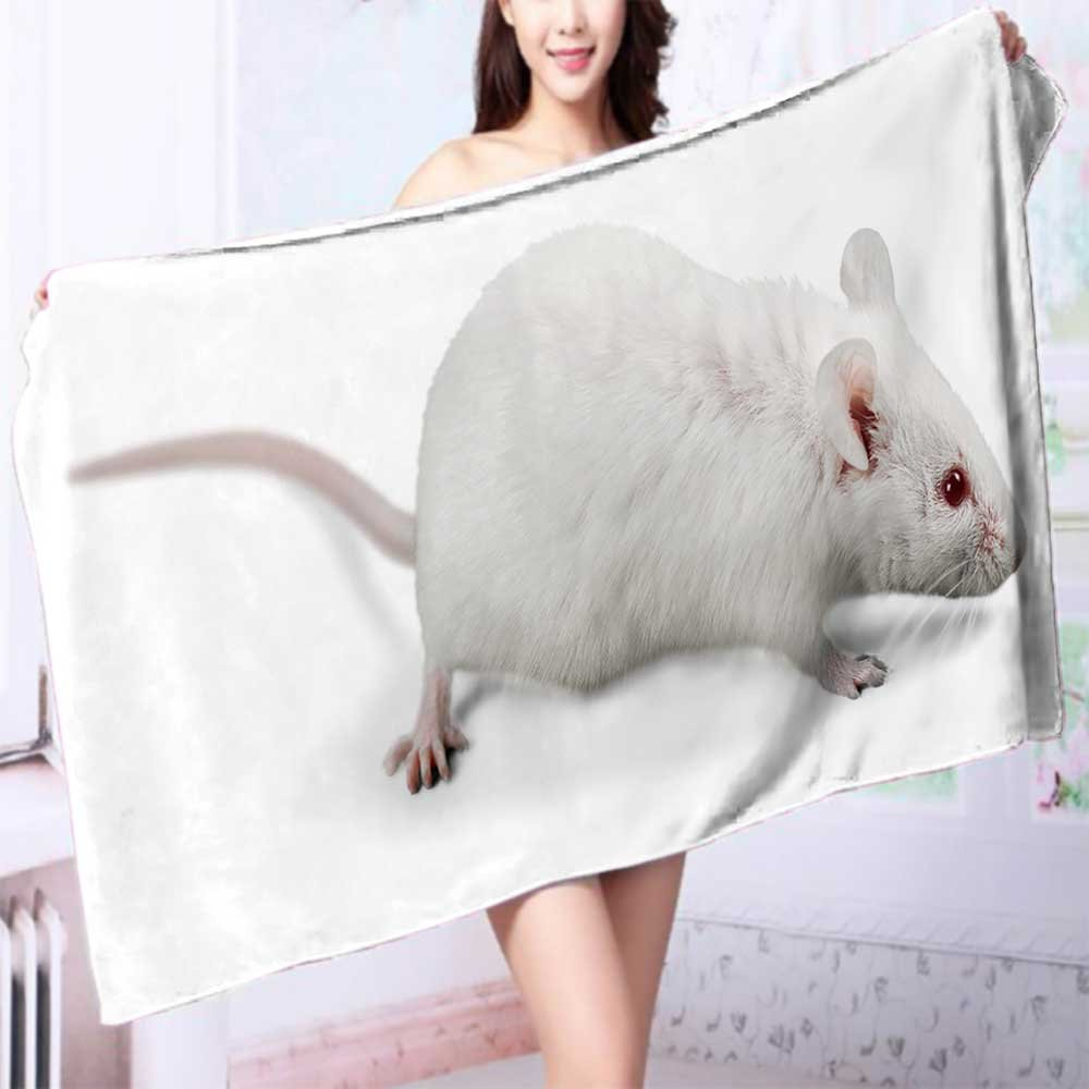 100% Premium Quality Bath Towel Animal,lab,test Soft & Absorbent L55.1 x W27.5 INCH