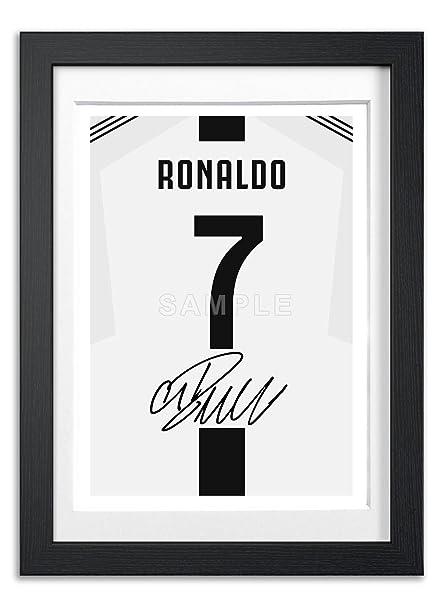 5b039b36d Memorabilia Cristiano Ronaldo Juventus Juve Signed A4 Poster Photo Print Autograph  Signature Autographed Photograph Artwork Wall