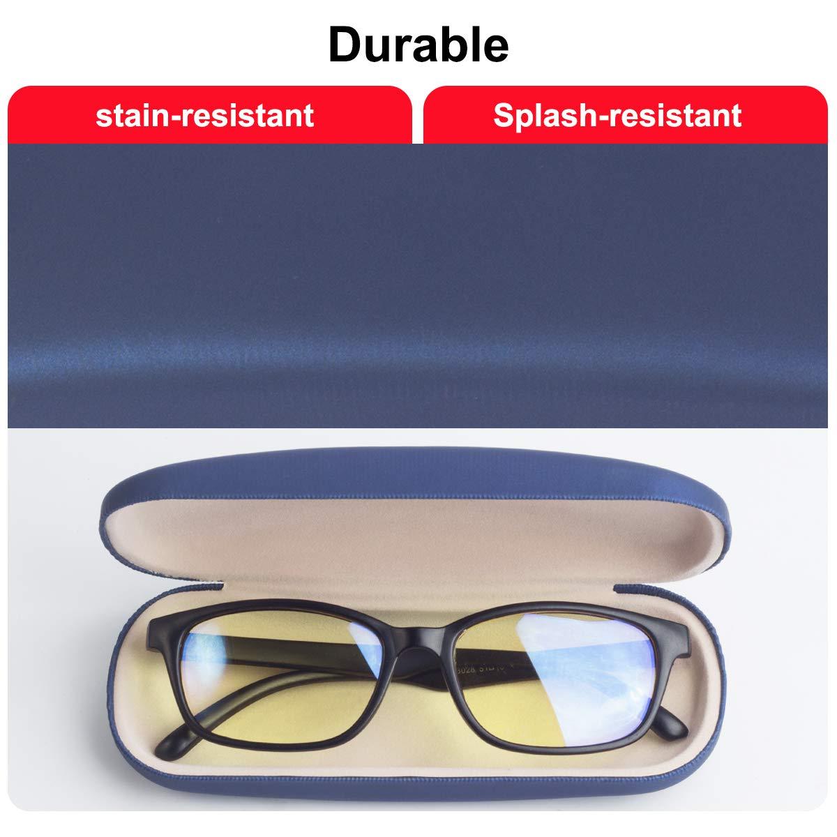 Raylove Unisex Hard Shell Eyeglasses Cases Protective Case For Glasses