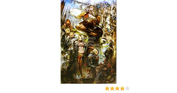CGC Huge Poster - Final Fantasy XIV A Realm Reborn PS3 PS4 XBOX 360 PC - FXIV007 (24
