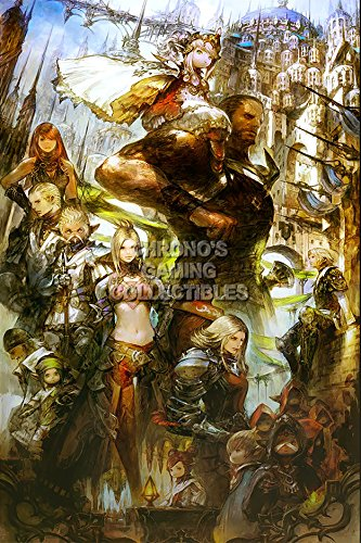"CGC Huge Poster - Final Fantasy XIV A Realm Reborn PS3 PS4 XBOX 360 PC - FXIV007 (24"" x 36"" (61cm x 91.5cm))"