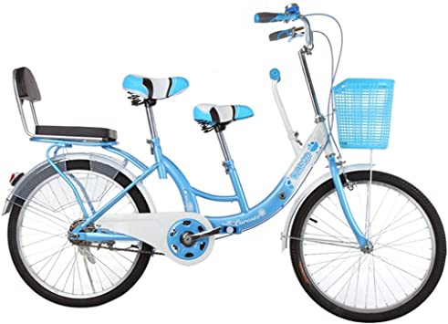 BOC Bicicleta para padres e hijos Coche para madres y niños Doble ...
