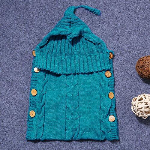EXOH Saco de dormir para bebé, de lana, manta para carrito beige beige Talla:50*31cm: Amazon.es: Bebé