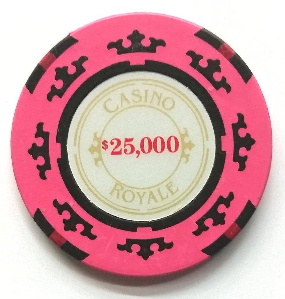 James Bond Casino Royale Poker Chip 25, 000 Performance used Movie Prop