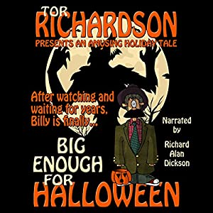 Big Enough for Halloween Audiobook