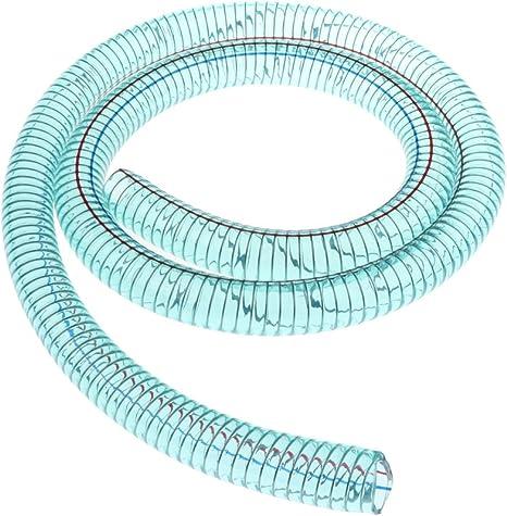 MagiDeal 1 Tuyau Flexible Tress/é De 25mm PVC pour Pompe /à Essence Air Dhuile 1.6m
