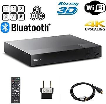 Multi region Smart Wifi 110-240 volts 6FT HDMI cable /& Dynastar Plug adapter bundle Package LG BP-350 Region Free Blu-ray Player