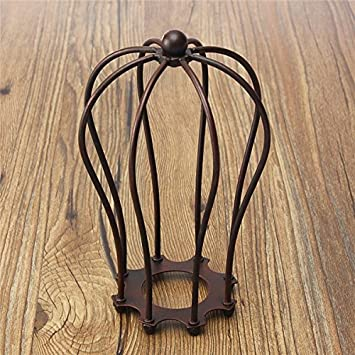 MASUNN 185mm Diy Vintage Pendelleuchte Lampe Schutz Drahtkäfig Decke ...