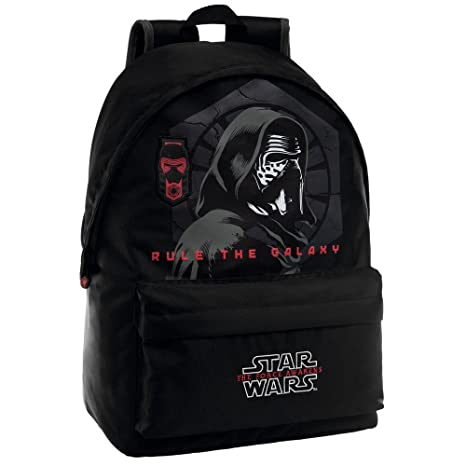 Disney 32223M1 Star Wars Kylo Mochila Escolar, 21.5 Litros, Color Negro
