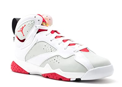 uk availability f6615 99419 Nike AIR Jordan 7 Retro BG (GS) 'Hare' - 304774-125: Amazon ...