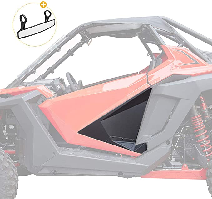 SuperATV Aluminum Lower Door Inserts for Polaris RZR PRO XP - Easy to Install 2020+ Rattle-free Fit