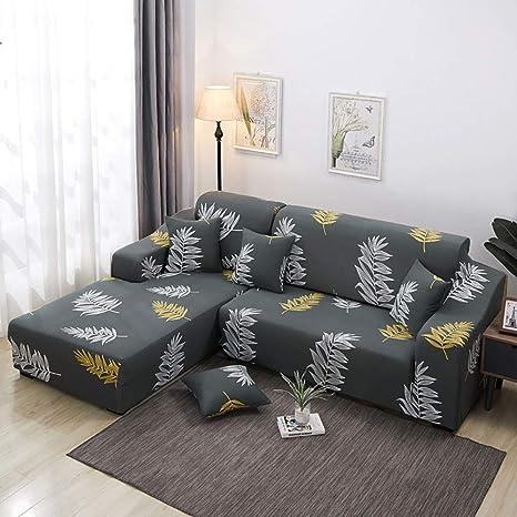 BDTOT Funda de sofá 1/2/3/4 Plazas Home Elástica Cubre para ...
