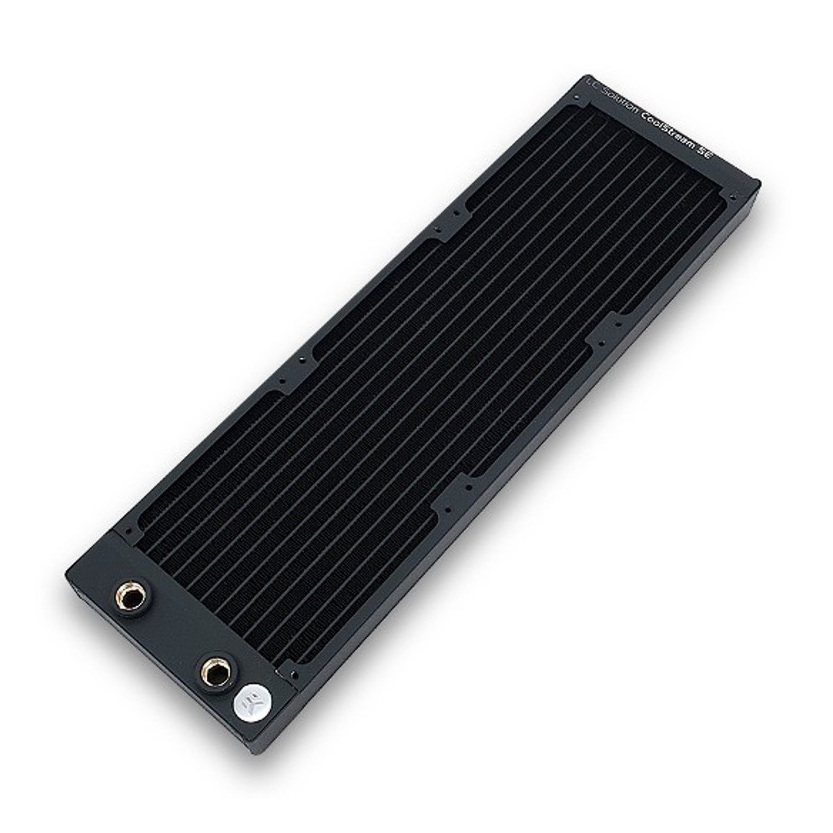 EKWB EK-CoolStream SE 360 Radiator, Slim Triple, Black