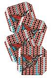 DENY Designs Julia Da Rocha Humm Coasters, Set of 4