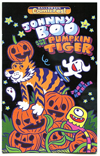 JOHNNY BOO and the PUMPKIN TIGER #1 Halloween Comicfest, Promo, 2016, NM, Ashcan ()