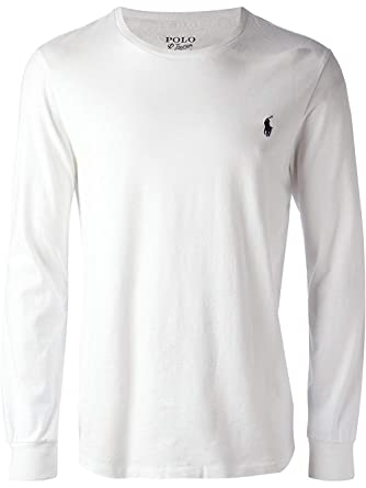 ralph lauren uomo t shirt  Polo Ralph Lauren Uomo T-Shirt - Maglia Manica Lunga:  ...