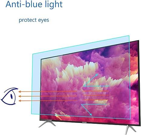Monitor Tv Schirm Schutz 65 Zoll Anti Glare Blau Licht Scratch Film Block Schädlich Blue Ray Und Schützen Sie Ihre Augen Für Lcd Led Oled Hdtv Mattierter Film Küche Haushalt