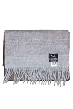 Wool Angora Scarf ALLAA 18761: Brown