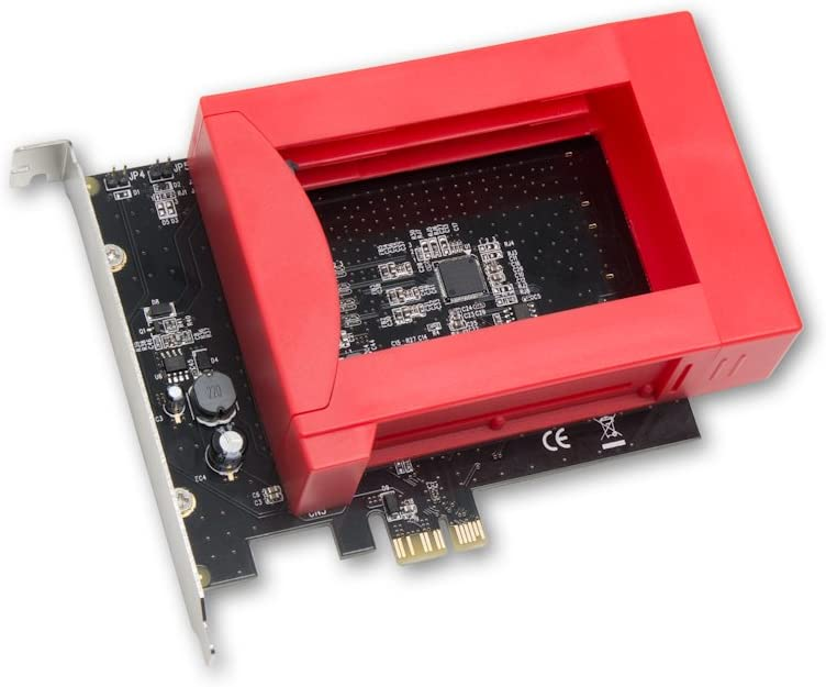 SYBA - Caddy PCI-Express x1 Raid para 2 SATA 6Gbps de 2,5