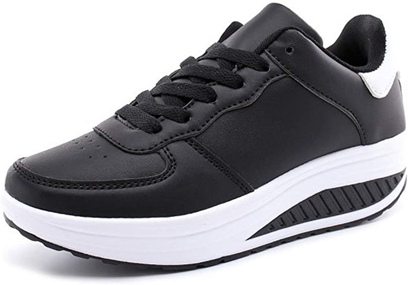 Femmes Chaussures compens/ées /à Plateforme Dames Chaussures de Fitness Orthop/édie Espadrilles de Coin Or 42