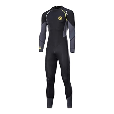 ZCCO Wetsuit Men's Womens 1.5mm Neoprene Full Sleeve for Snorkeling,  Surfing,Canoeing,Scuba Diving Suits (Men, S): Amazon.in: Sports, Fitness &  Outdoors