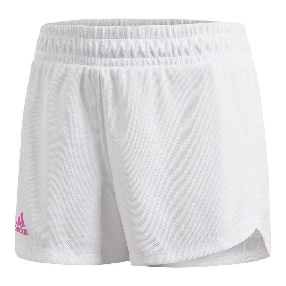 adidas Tennis Seasonal Shorts, White, Large
