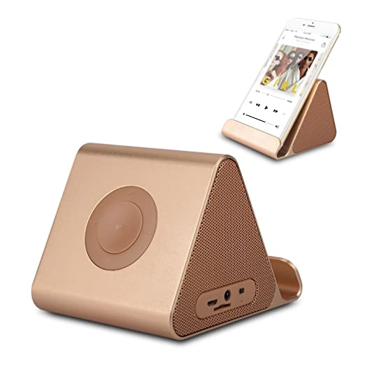 Review Ultra-Portable Rechargeable Speaker Stand,