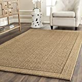 Safavieh Palm Beach Collection PAB355A Natural Sisal & Jute Area Rug (5′ x 8′)