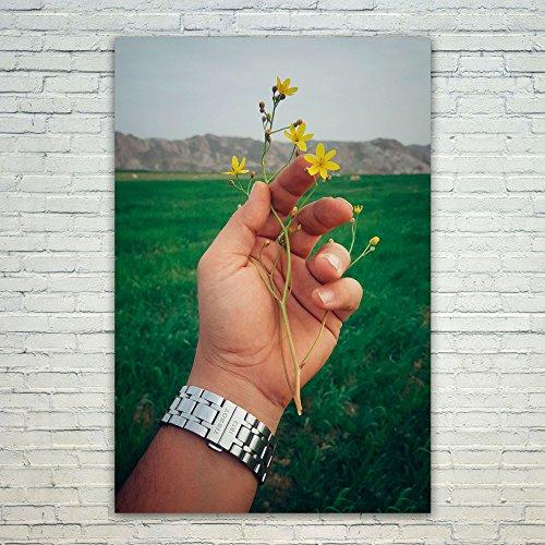 Westlake Art Poster Print Wall Art - Yellow Flora - Modern P