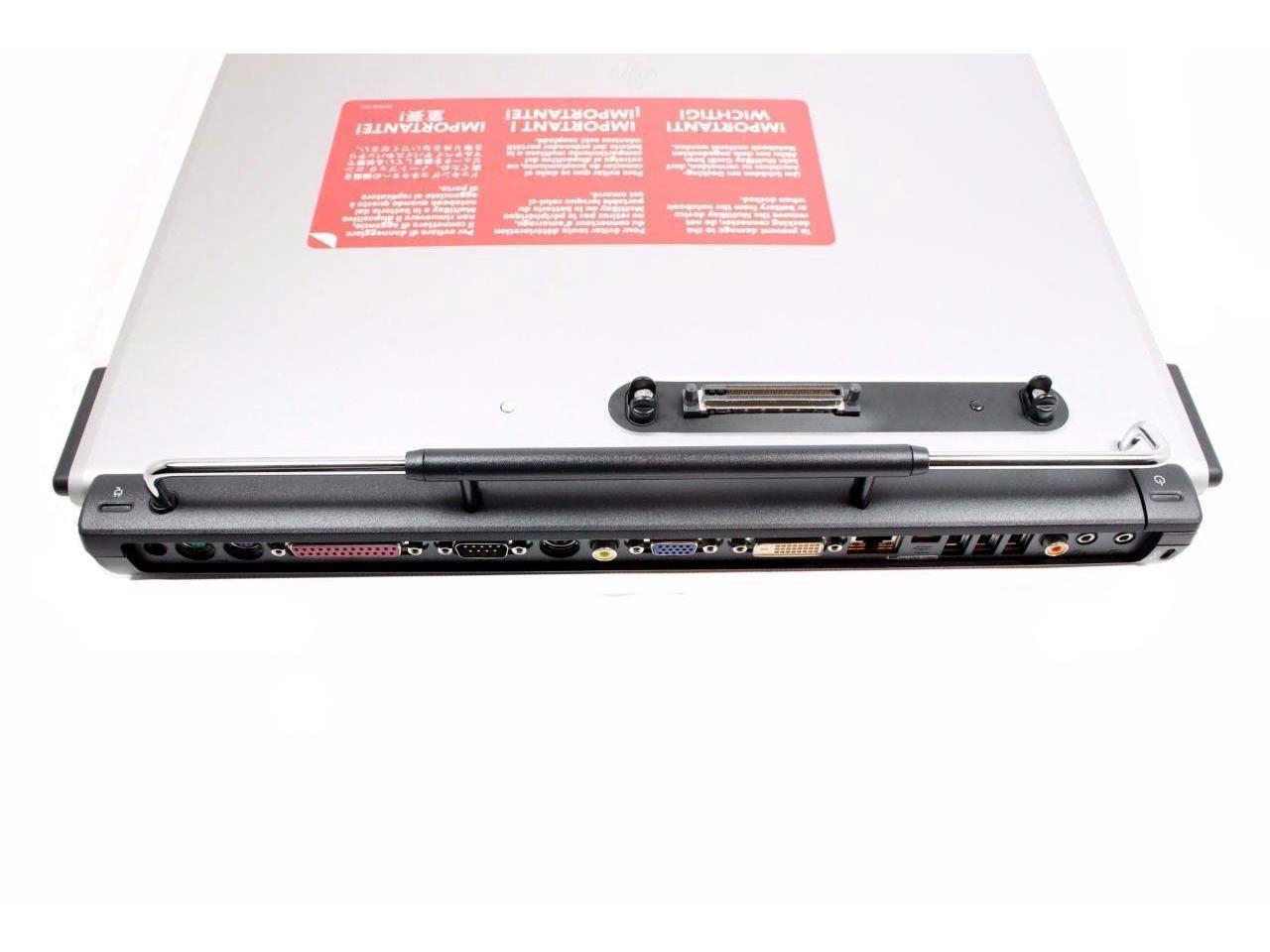 Amazon.com: HP PR1005 Compaq Presario 1000 Pavilion ZT3000 Workstation NW8000 USB External Docking Station Port Replicator 331740-001+N 331740-001-B: ...