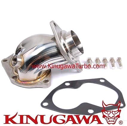 Amazon.com: Kinugawa Turbo Dump Down Pipe Mitsubishi 4G63T Lancer EVO 7~9 w/Gasket & Stud: Automotive
