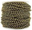 CleverDelights Ball Chain Roll - 100 Feet - Antique Bronze Color - 2.4mm Ball - #3 Size - Bulk