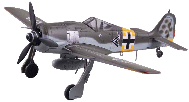 EASY MODEL 1/72 フォッケウルフ Fw190A-6 第54戦闘航空団 ヴァルターノヴォトニー搭乗機 1943年11月 完成品 B075CGV9C8