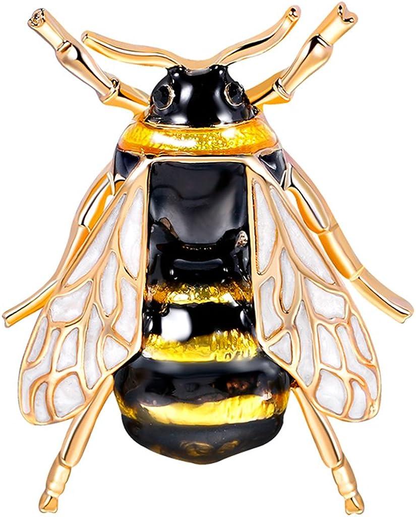 bumblebee broche corsage insecte chapeaux écharpe clips insecte fleur à la
