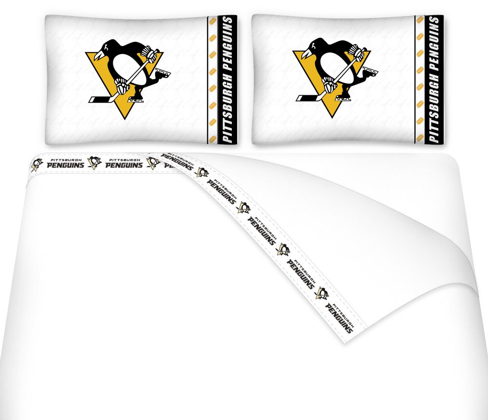 NHL Pittsburgh Penguins -5pc BED IN A BAG - Queen Bedding Set