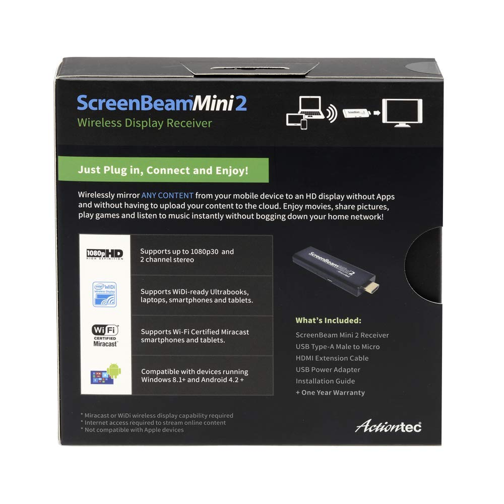 Actiontec ScreenBeam Mini2 Wireless Display Receiver(SBWD60A01) by Actiontec (Image #4)