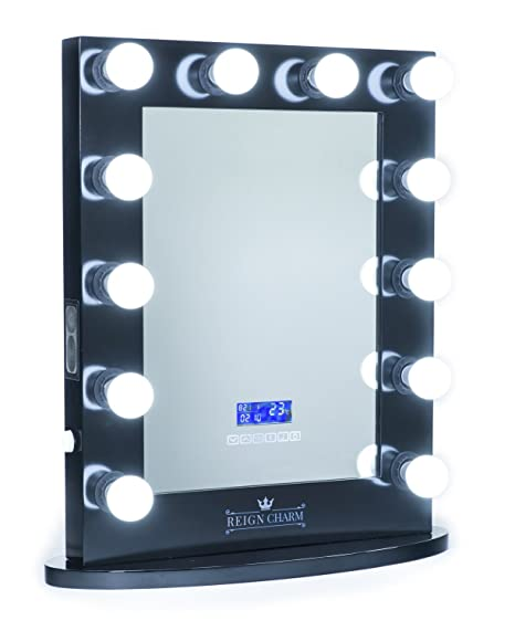 Amazoncom Reigncharm Hollywood Vanity Mirror Bluetooth Audio