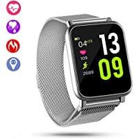 $39 » QiyuanLS Fitness Tracker Smart Watch, IP67 Waterproof Activity Tracker with Heart Rate…