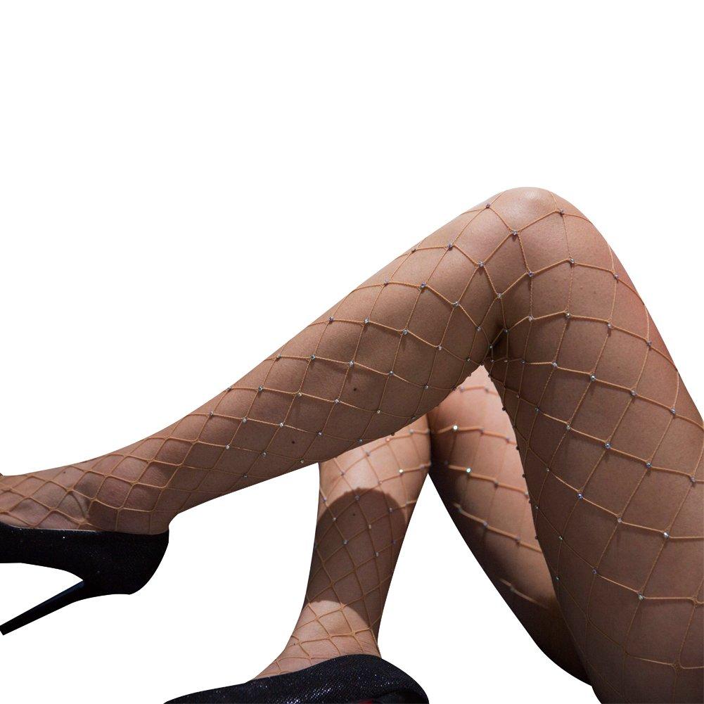 53db21cd438bd akiido High Waist Tights Fishnet Stockings Thigh High Stockings Pantyhose  A-118