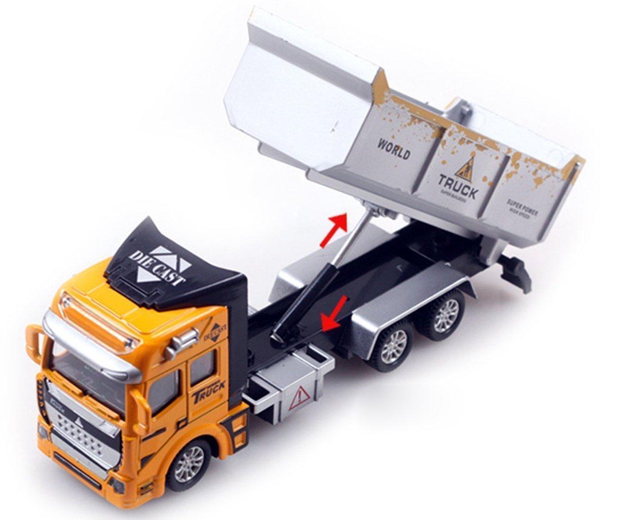 Parteet Pull Back Diecast Loading Trucks Toy for Kids (B06XJPWY48) Amazon Price History, Amazon Price Tracker