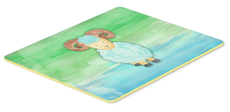 Carolines Treasures BB7418CMT Ram Sheep Watercolor Kitchen Mat 20 x 30 Multicolor
