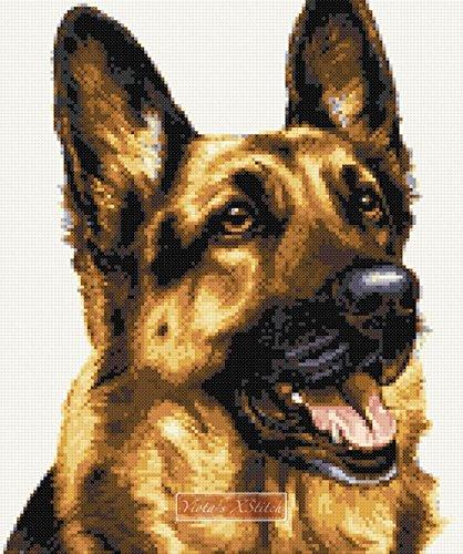 - German Shepherd (v2) Counted Cross Stitch kit