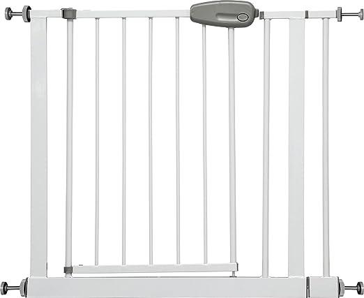 """62 opinioni per IB-Style- Cancello di sicurezza """"Megane"""" bianco/grigio 74- regolabile con"""