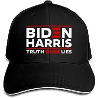 Biden Harris Truth Over Lies Hat Election Printed Baseball Cap Adjustable Dad Hat